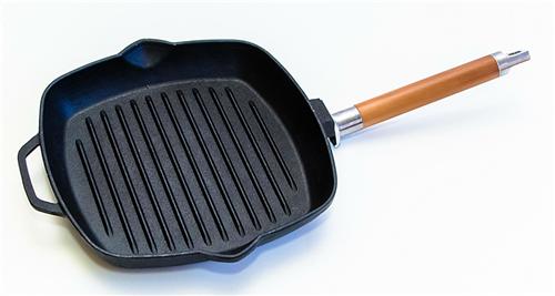 Сковорода-гриль чугунная БИОЛ 10241