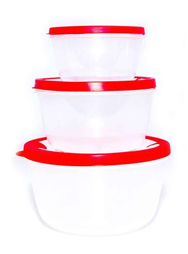 Набор пластиковых судочков Stenson МР-0668