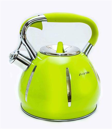 Чайник со свистком Kamille KM 0691A
