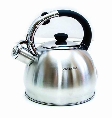 Чайник со свистком Kamille KM 0694BN