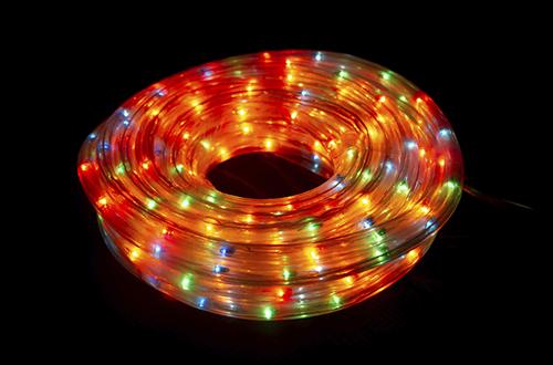 Гирлянда светодиодная, шланг 10м. Цветная