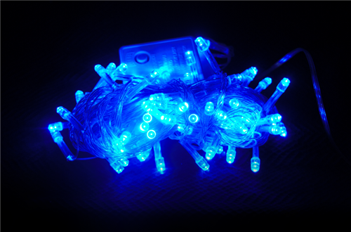 Гирлянда светодиодная 100 LED, синяя