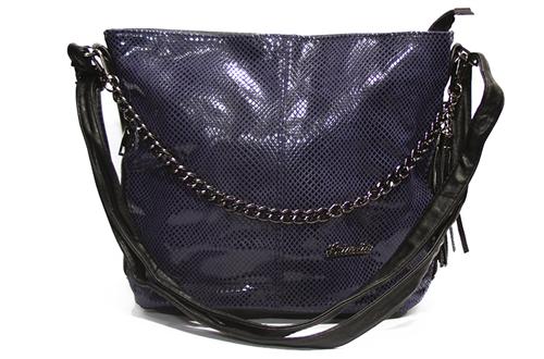 Женская сумка Замша 838-6 Фиолетовая