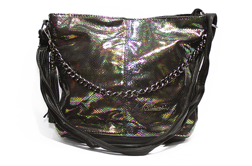 Женская сумка Лазерка 838-1 Зеленая