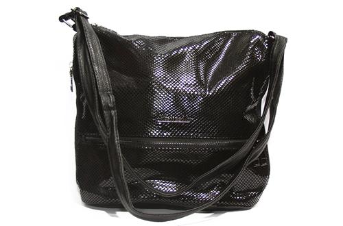 Женская сумка Лазерка 909 Черная