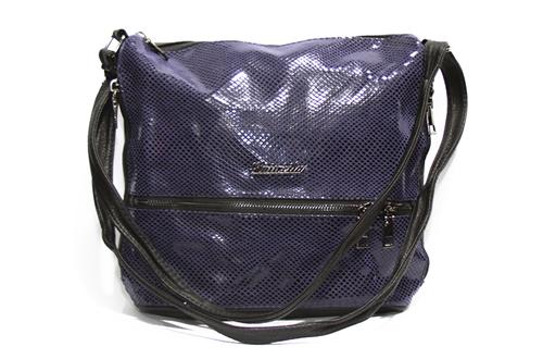 Женская сумка Лазерка 909 Синяя