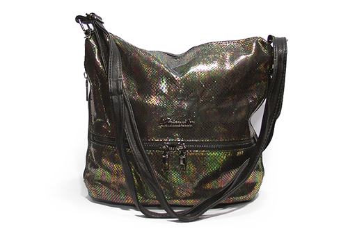 Женская сумка Лазерка 909 Зеленая