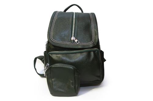 Рюкзак женский 528-30 Зеленый