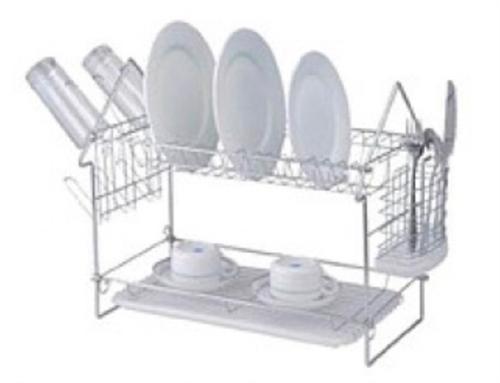 Сушка для посуды двухъярусная Stenson 035