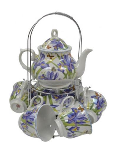 """Набор чайный Оселя """"Фиолетовые цветы"""" 21-245-018"""
