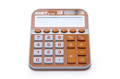 Калькулятор EXACT ET-843