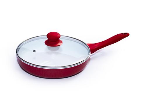 Сковорода Barton Steel красная BS-7024К