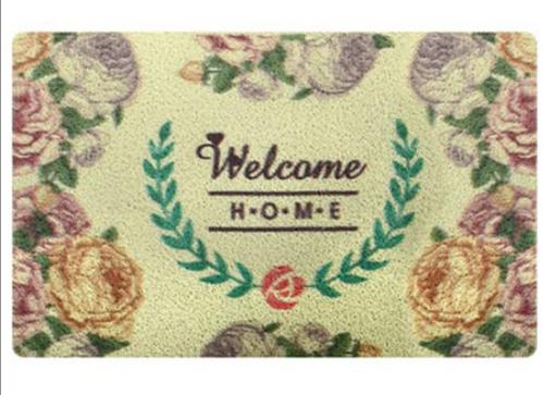 """Коврик придверный """"Welcome home"""" R81762"""