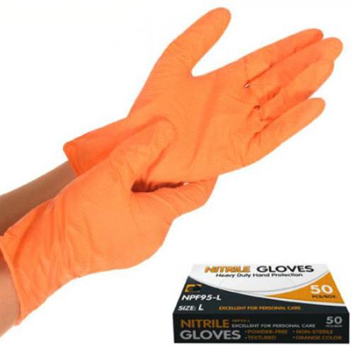 Перчатка нитриловая неопудренная L NPF95-L