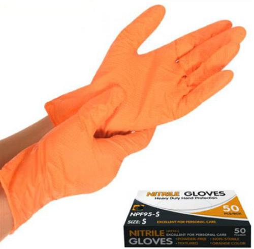 Перчатка нитриловая неопудренная S NPF95-S