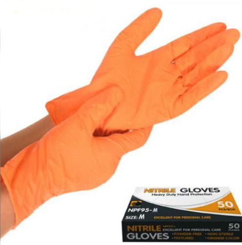 Перчатка нитриловая неопудренная М NPF95-М