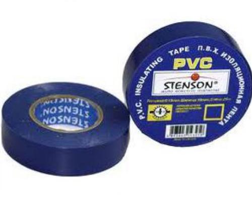 Изолента ПВХ 10м. синяя Stenson МН-0021 10шт/уп.